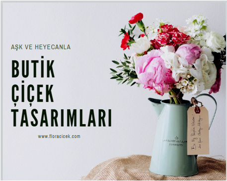 butik çiçekler